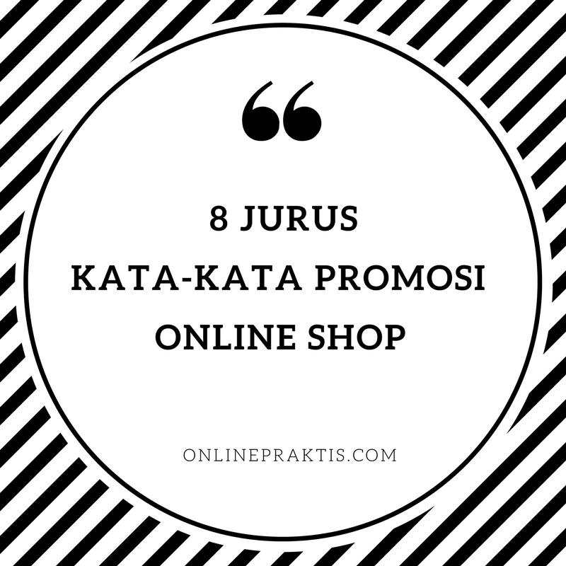 kata-kata promosi online shop