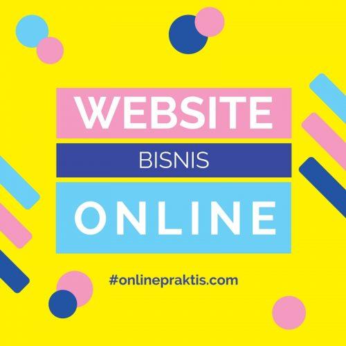 Membangun website bisnis online