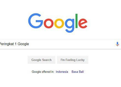 Ini Dia Cara Ranking 1 Google Termudah